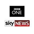 bbc one and sky sports news logo